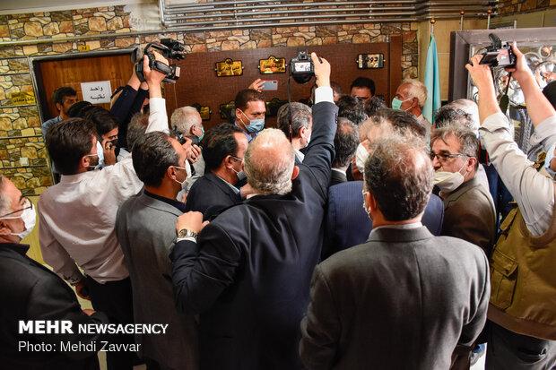 بازدید و افتتاح چندین طرح توسط وزیر راه و شهر سازی در استان آذربایجان غربی