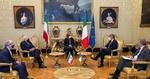 ظريف يجري مباحثات مع رئيس مجلس النواب الايطالي