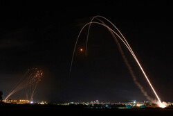 حملات گسترده نیروهای مقاومت فلسطین به شهرکهای صهیونیستی اطراف غزه