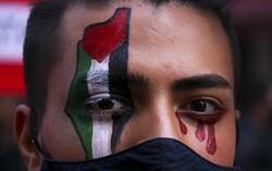 Arjantin'de Filistin'e destek gösterisi düzenlendi