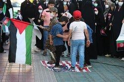 تجمع خودجوش بابلسری ها در حمایت از مردم مظلوم فلسطین