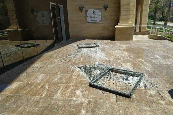 هلال احمر قطر هدف حمله هوایی صهیونیستها قرار گرفت