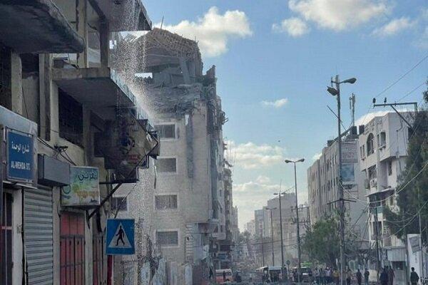 قطر تدين بشدة قصف مبنى هلالها الأحمر في غزة