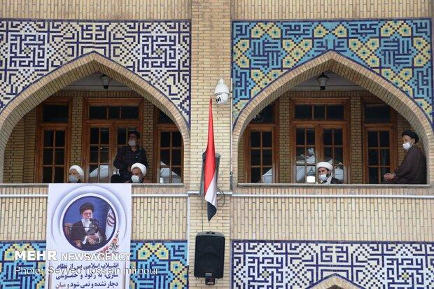İran'da din alimleri Filistin'e destek için toplandı