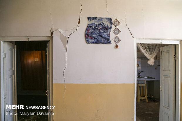 وارد شدن خسارات جزئی به خانههای قدیمی و روستایی قوچان
