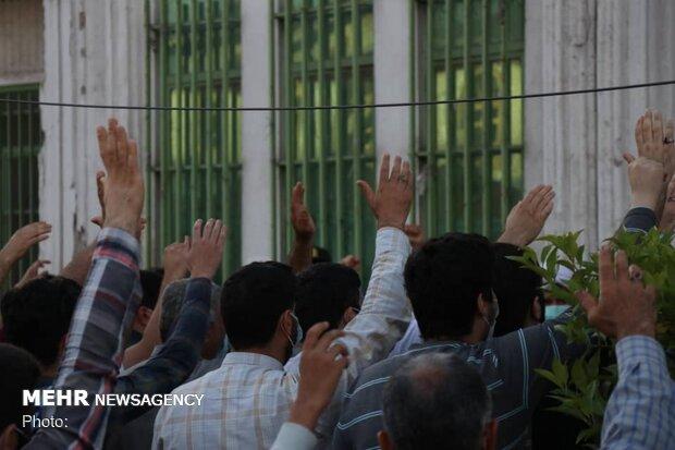 تجمع خودجوش و اعتراضی مردم بابلسر