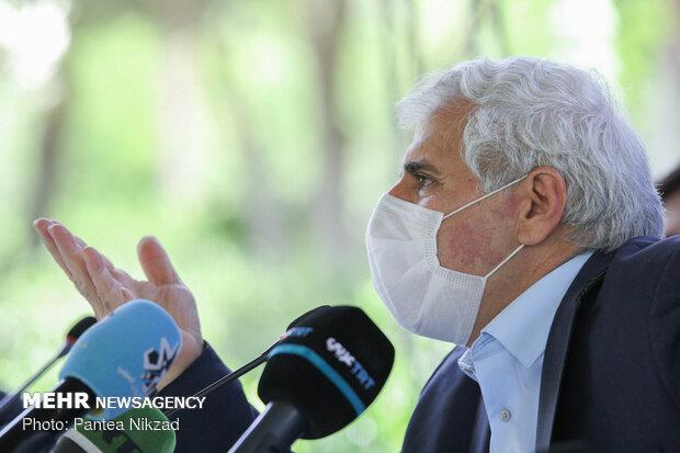 نشست خبری محمد حسن طالبیان به مناسبت روز جهانی میراث فرهنگی