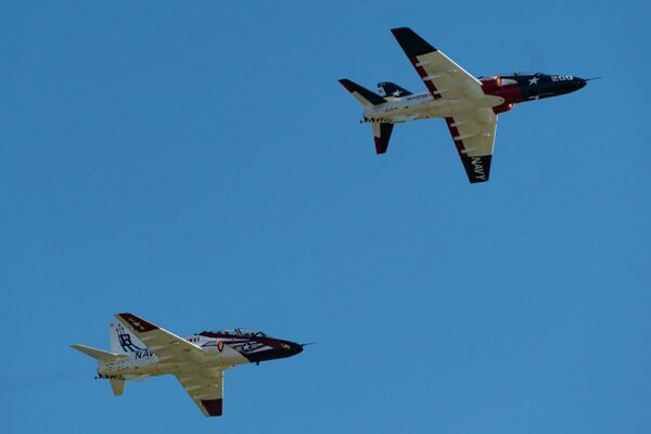 Two US Navy training jets collide over Texas