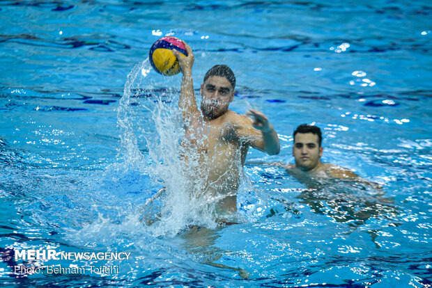 Camp of Iranian water polo team