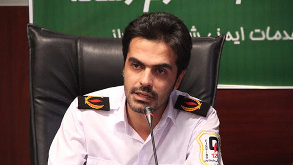 انجام 30 ماموریت توسط تیم های آتش نشانی شیراز