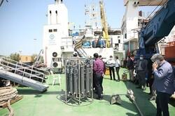 فعالیت کشتی تحقیقاتی پژوهشگاه ملی اقیانوسشناسی در بوشهر آغاز میشود