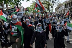 VIDEO: Michigan Muslims protest Biden's support for Zionists