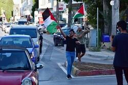 Kuzey Kıbrıs'ta Filistin'e destek gösterisi
