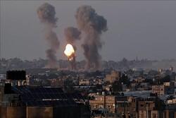 استهداف صهيوني ليلا على قطاع غزة