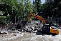 رفع تصرف ۵ هکتار از اراضی حریم و بستر رودخانه در شهریار
