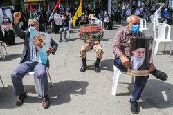 مردم بجنورد در محکومیت جنایات رژیم صهیونیستی تجمع کردند