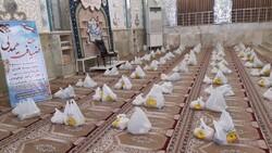 ۲۰۰ بسته مواد غذایی در میان نیازمندان شهرضا توزیع شد