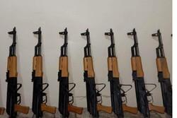 محموله قاچاق سلاح در مرز دهلران کشف و ضبط شد