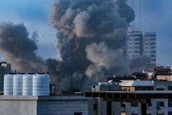 Siyonist Rejim güçlerinin Gazze'ye saldırıları sürüyor