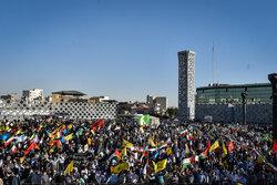 Pro-Palestinian rally in Tehran
