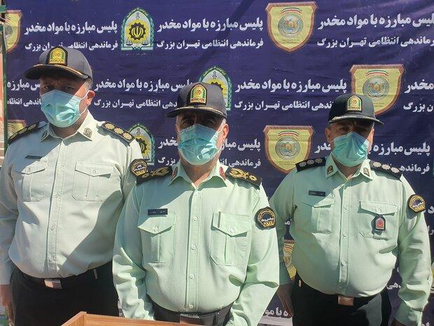 گلایه پلیس ازبازگشایی خانههای پلمب شده/ دستگیری۸هزار معتادمتجاهر