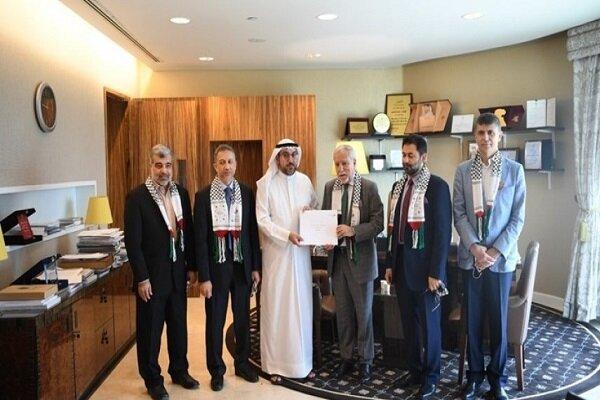 البرلمان الكويتي يستقبل وفدا فلسطينيا/ تاكيد على دعم الشعب الفلسطيني