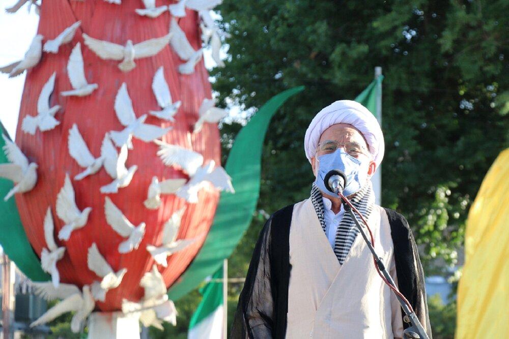 دنیای اسلام باید یکپارچه در حمایت از ملت فلسطین قیام کند