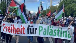 Almanya'da Siyonist İsrail'in saldırıları protesto edildi