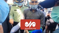 دستگیری ضارب مامور راهور