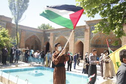 İran Kürtlerinden Filistin'e destek