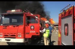 نقص فنی عامل اصلی آتش گرفتن ۲ تانکر حمل سوخت در مرز باشماق