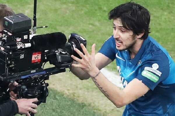 Sardar Azmoun named Russian league's player of the year
