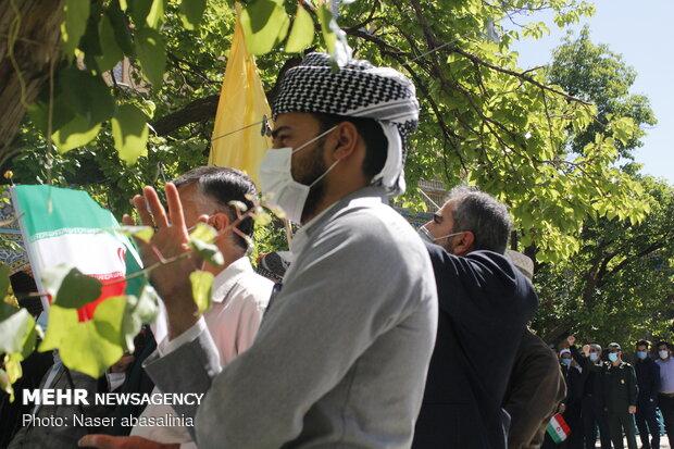 تجمع ضد صهیونیستی مردم سنندج