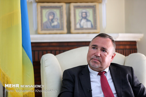 Ukrainian envoy to Iran holds an exclusive interview with MNA