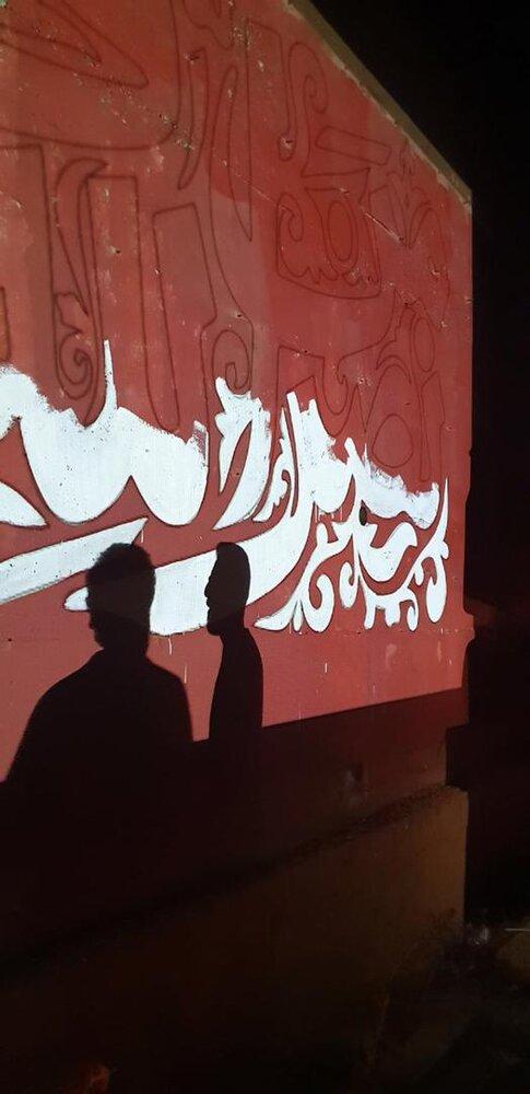 ريشة المقاومة تَرسُمُ على الجدار الفاصل بين لبنان وفلسطين