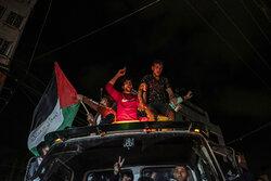 """Gazze ve Batı Şeria'da """"zafer"""" sevinci"""