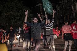 غزہ جنگ میں اسرائیلی کی شکست کے بعد مقبوضہ فلسطین میں خوشی کی لہر دوڑ گئی
