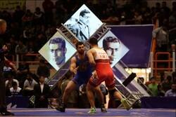 کشتیگیران کرمانشاهی در جام تختی ۵ مدال رنگارنگ کسب کردند