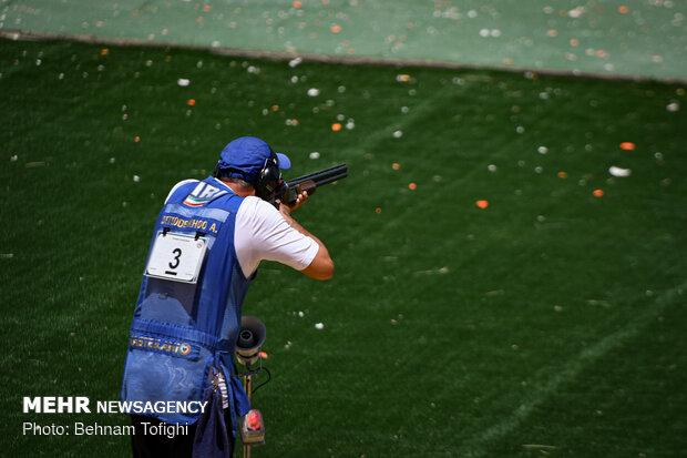 Skeet shooting competitions in Tehran
