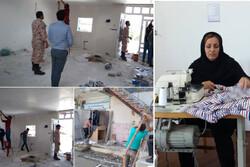 فعالیت جهادی برای اشتغال زنان سرپرست خانوار در «نوده ملک»