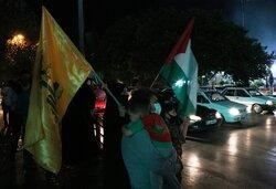 جشن پیروزی جبهه مقاومت در مشهد