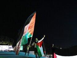 جشن پیروزی «جبهه مقاومت» در مشهد مقدس