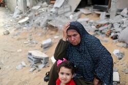 آلاف المهجرين الفلسطينيين يعودون إلى ديارهم في قطاع غزة