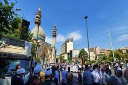 وقفة تضامنية في طهران احتفالا بانتصار المقاومة الفلسطينية