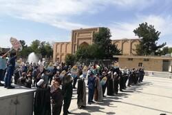 جشن پیروزی مردم «غزه» در ورامین برگزار شد