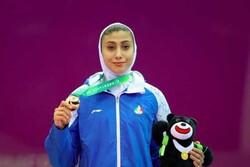 Iranian Taekwondoka Nahid Kiani secures Olympics ticket