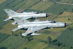 3rd Indian Air Force MiG-21 fighter crashes