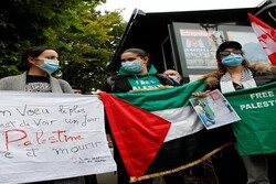 Citizens in Paris rally in support of Palestinians in Gaza