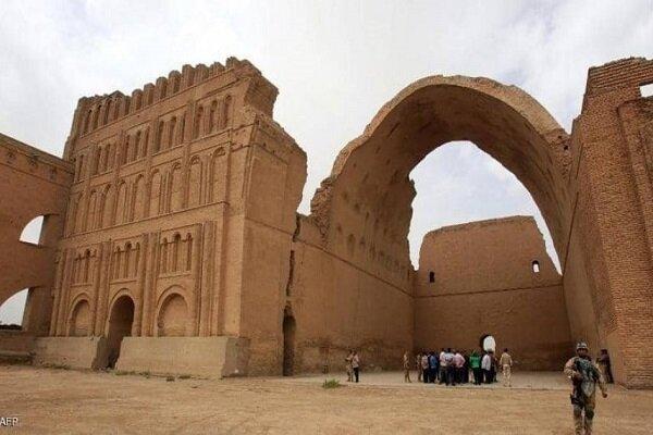"""وزارة الثقافة العراقية تدعو ايران لإعادة ترميم المبنى التراثي""""طاق كسرى"""""""