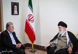 فلسطینی تنظیم جہاد اسلامی کے سربراہ کی رہبر معظم انقلاب اسلامی کومبارکباد